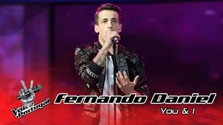 Fernando Daniel - You & I (John Legend) | Gala | The Voice Portugal width=