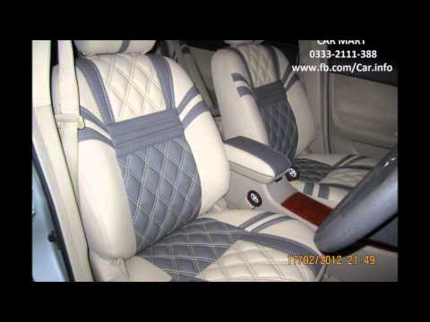 TOYOTA PREMIO Seat Covers in 'DIAMOND SHAPE' Upholstery by CAR MART