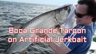Tarpon on Artificial Bait in Boca Grande Pass
