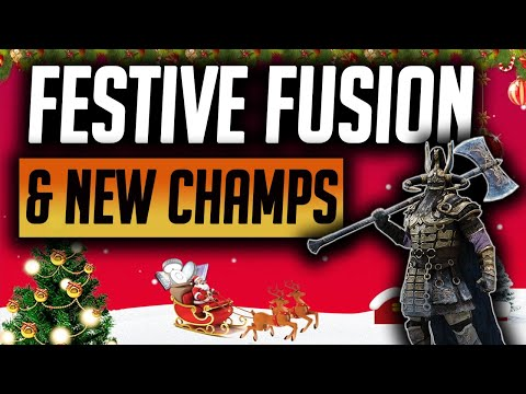 NEW FESTIVE FUSION, ALL NEW CHAMPIONS REVIEWED! | Raid: Shadow Legends