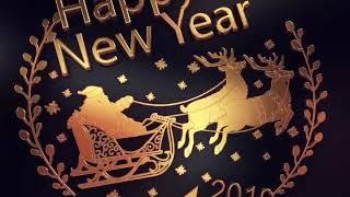 Happy new year 2019 - أجمل تهنئة بالعام الجديد 2019
