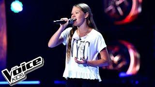 """Nailah Vitha – """"Dłoń"""" – Przesłuchania w ciemno – The Voice Kids Poland"""