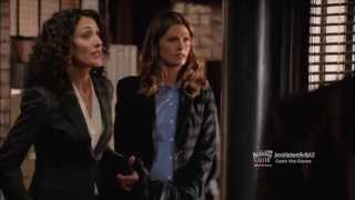 "Castle 6x03 Sneak Peek #1  ""Need To Know"" Castle & Beckett Cute & Funny Scene at the 12th Precinct"