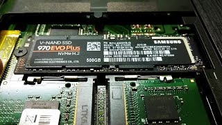 How to Install NVMe M.2 SSD on Acer Aspire E15 E5 575 Laptop SAMSUNG NVMe M.2 SSD Installation Guide