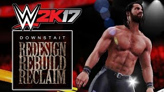Seth Rollins New Cover Theme Entrance (Downstait - WWE 2K Games)