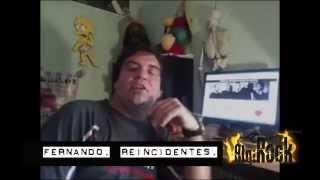 FERNANDO REINCIDENTES CON ALGIROCK
