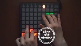 Skrillex no Launchpad ao som De Teclado Lindinho  MP4