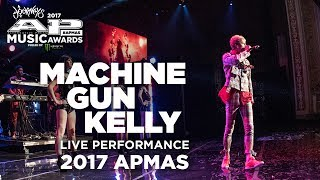 "APMA's 2017 Performance: MACHINE GUN KELLY performs ""THE GUNNER"""