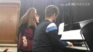Piano cover - Dulce Pontes O Infante (Mar Português)