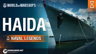 Naval Legends: HMCS Haida Trailer   World of Warships