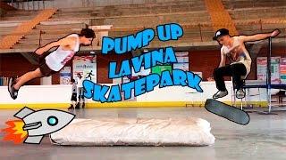 Качаем Скейтпарк   Летающие Скейтеры   Pump Up the Lavina Skatepark   Flying Skaters