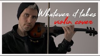 Whatever it Takes - Imagine Dragons violin cover [Official Video]