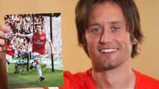 Tomas Rosicky: Arsenal Albums