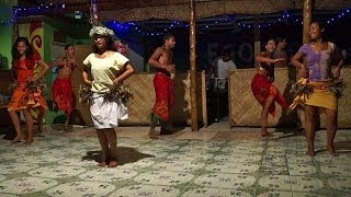 """Pate Pate"", a Polynesian dance, Samoa"
