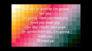 One Direction - One Way Or Another (lyrics)