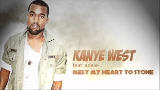 Kanye West Feat  Adele   Melt My Heart To StoneBRAND NEW2011