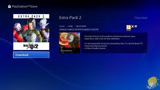 Dragon Ball XENOVERSE 2 - Extra Pack 2 DLC & Anime Music Pack ON PSN 【60FPS 1080P】