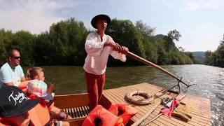Pltník Paľko - Splav na plti rieky Orava