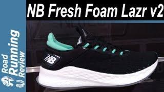 New Balance Fresh Foam Lazr v2 Preview | La suavidad en carrera se llama Lazr