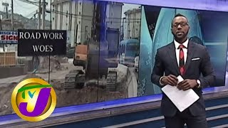 TVJ News: Road Work Hampers Businesses - March 18 2019