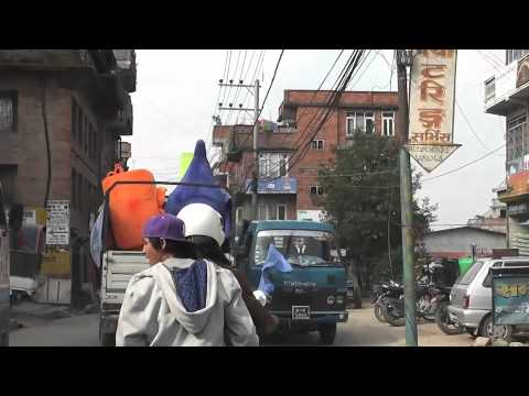 World Hand Wash Day Motorcycle Rally in Nepal