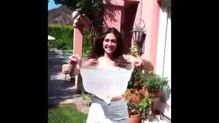 Emmy Rossum icebucketchallenge Video Fiona gallagher