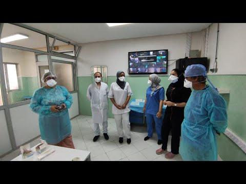 Video : Immersion dans les services Covid de l'hôpital Moulay Youssef de Casablanca