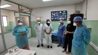Immersion dans les services Covid de l'hôpital Moulay Youssef de Casablanca