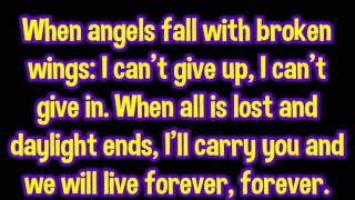"Breaking Benjamin - ""Angels Fall"" lyrics"