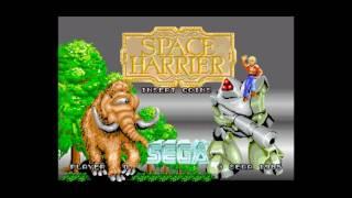 Space Harrier (Arcade) - BGM 12: Title Theme (feat. voice samples)