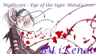 Nightcore - Eye of the Tiger metal cover by Leo Moracchioli (feat  Rob Lundgren )