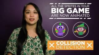 CS in Algebra: Big Game Collision Detection