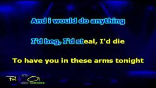 Bon Jovi   In These Arms - Karaoke