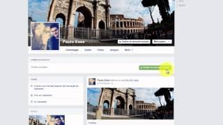 Pedir e aceitar amizade no Facebook