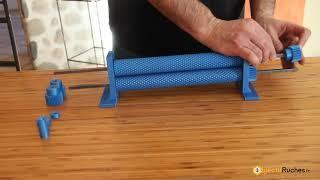 Gaufrier à cire (rouleau/laminoir) en impression 3D