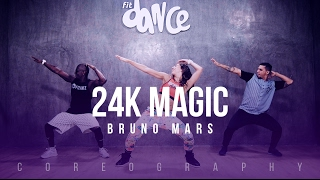 24K Magic - Bruno Mars - Choreography - FitDance Life