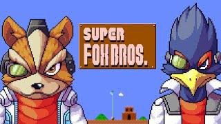 SUPER FOX BROS. Fox & Falco vs Super mario bros. 20xx