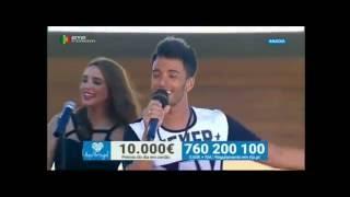 """MÁRCIO PEREIRA """"Não Desisti"""" na ANADIA 10-09-2016 (RTP) - Informações para Espetáculos"""