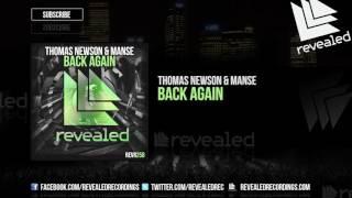 Thomas Newson & Manse - Back Again (Preview)