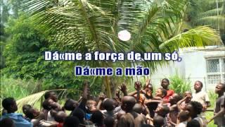"""Natal em Africa - Do Musical: """"A Magia do Natal"""" - karaoke SEM VOZ GUIA"""