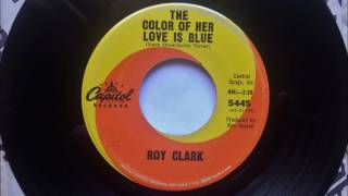 The Color Of Her Love Is Blue , Roy Clark , 1965 45RPM