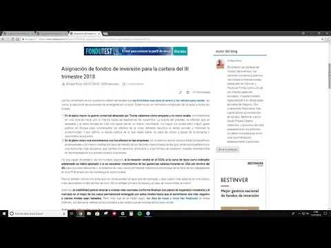 Asignacion de fondos de renta 2017