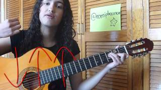 Luna Zoe tutorial guitarra facil.
