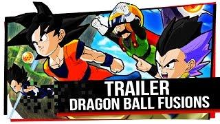 Dragon Ball Fusions - Primeiro Trailer