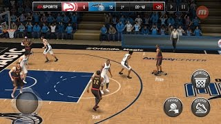 melhor jogo de basquete para android '' NBA LIVE''