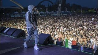 EMINEM -Rap God - Milano Revival tour - 7/7/2018