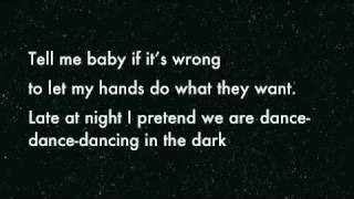 Dancing In The Dark - DEV Lyrics