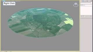 Terrain Modelling - Říp Mountain - 3D Studio Max