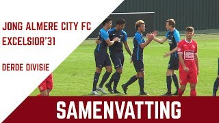 Screenshot van video Samenvatting Jong Almere City FC - Excelsior'31