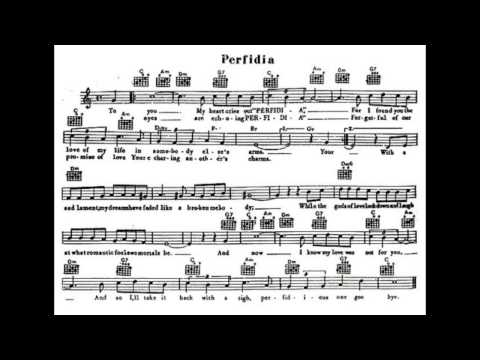 Perfidia-Julie London- sing along/ sheet music Chords - Chordify